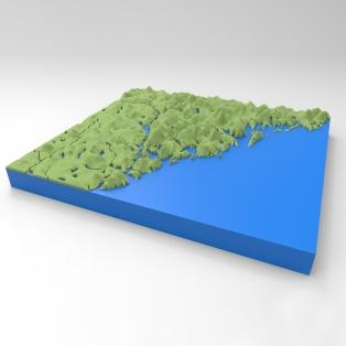 Visualisering av Höga Kusten