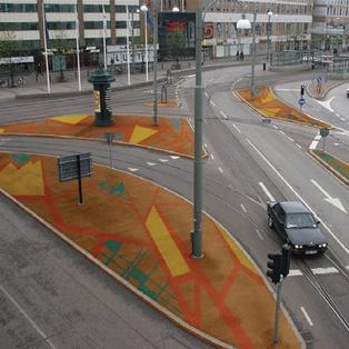 Förslag på offentlig utsmyckning trafikplats Centralstationen Göteborg